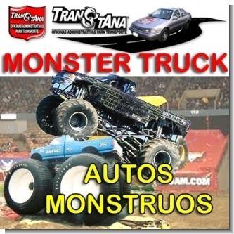 Lee el articulo completo NOTICIAS - Anatomia de los Monster Truck