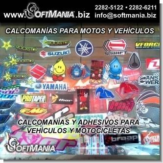 Adhesivos y Calcomanias para Motocicletas y Vehiculos